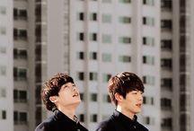 Woobin x Jongsuk since school 2013
