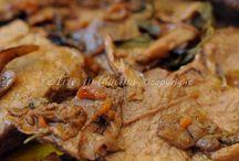 rosbeef con funghi porcini