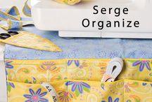 serger organizer