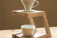 Kávés csésze tartó