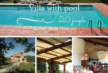 Villas with pool - Siena and Valdorcia / Have a look to our selection of villas and farmhouses with private pool in the region of Siena - Tuscany