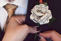 Corsages and pin