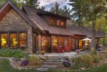 Cabin-Lake Houses That I Like......