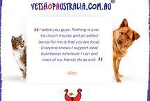 VetshopAU Testimonials