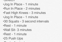 Vball workouts