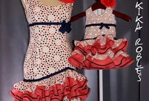 trajes flamenca cortos