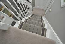 Off The Loom Stair Runner | Whalton 1 - Installation 2