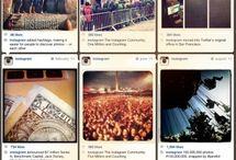 Instagram Training & Tips / Social Media Training Infographics for Instagram