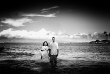 Destination wedding Hawaii / Vibrant colors, the ocean, the sun and the beach: A trash the dress shoot and a romantic wedding  / by Hardy Klahold Photography