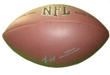Miami Hurricanes Autographed Football Collectibles / Welcome to my selection of autographed Miami Hurricanes footballs & more. We at Southwestconnection-Memorabilia offer a wide variety of autographed NFL collectibles including Footballs, Full Size Helmets, Mini Helmets, Jerseys, Pylons & Lithos! Please check out my website: www.AutographedwithProof.com for additional autographed memorabilia, including MLB, NFL, NHL, NBA and more! All items include photographic proof of our encounter with the athlete to insure authenticity!