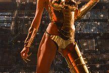 Dancers costumes