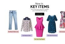 Clothing Websites / by Miranda Sebastian