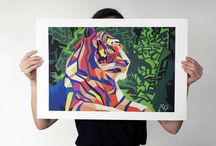 Art Prints - Kunstdrucke by Ricardo Garces Art
