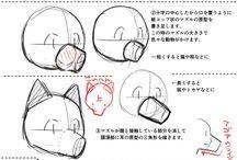 manga kresby