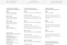 Design Graphique - CV