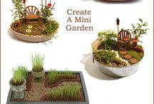 Mini garden and Fairy hause