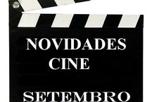 Cine SETEMBRO 2016 / Novidades CINE na Biblioteca Anxel Casal SETEMBRO 2016