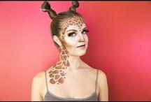 Giraffen schminken