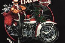 Santa Claus Harley Davidson