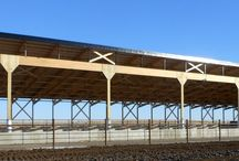 Cattle Operation Barns / Customize; engineered for strength