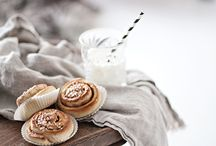 food styling . Bread and baked goods