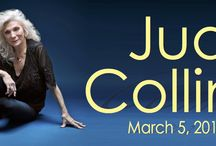 JUDY COLLINS at The Newton Theatre 3/5/2016 / Judy Collinshas inspired audiences with sublime vocals, vulnerable songwriting, and an unyielding commitment to social activism. She continues to create music of hope and healing that lights up the world and speaks to the heart.