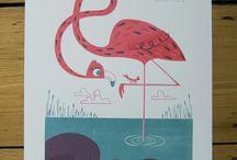 Flamingo board