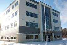 Kirkland Lake, Ontario Office Buildings / Farhi Holdings Corporation is a dynamic real estate and development company based in London, Ontario. Founded in 1988, FHC owns and manages more than 4 million Sq.Ft. of office, retail, and residential space throughout Ontario, in addition to significant land holdings. Visit our website www.fhc.ca for our entire property portfolio.