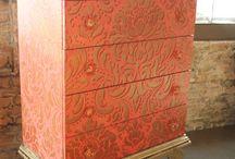 Painted furniture / Målade möbler