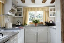 Kitchen inspiration / One day I'm going to get rid of my little kitchen... one day...