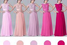 cores vestido