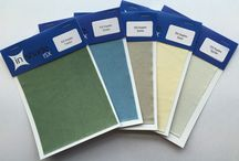 Fabric Colours / Just a little selection of fabric colours we offer as standard.