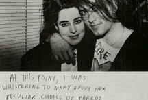 Robert Smith with his wife Mary Poole