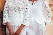 crochet blusa