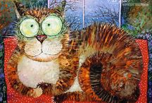 Cat Art ....... Cute and Funny 7