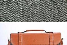 Snow Paw Harris Tweed Bags / Complete your look and style your wardrobe with our stunning Harris Tweed bags