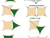 Garden Rain Shade Sail & Tent / Pergola, utomhus, trädgård, altan, regnskydd solskydd
