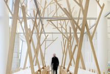 Wood / Bois / Exemples of usage of #wood in #architecture