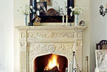 FIREPLACES / by Irene Rayment