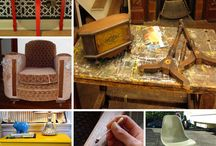 DIY Furniture Restoration & Repurposing / Tutorials and ideas on how to restore & recover furniture, as well as how to turn a piece of furniture into something else! / by Brandy-Lyn Pahlke