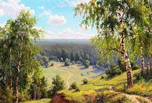 Картины Игоря Прищепы