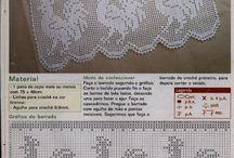 Häkeln Bordüre Spitzen - crochet edging lace border / by Susanne Paar