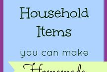 homemade items to make and use at home