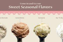 Seasonal Flavors / Our seasonal flavors change each month.