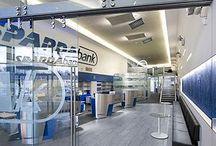 Bancos / Selección de oficinas bancarias