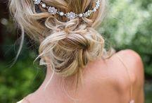 wedding -fryzura