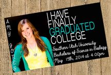 Graduation announcements / by Andrea Mitchell-Blanco