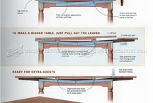 Tables, Woodworking