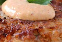 prep 哈 crab cake