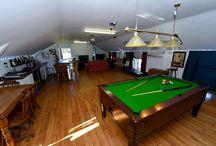 Games Rooms / Games rooms, adults games room ideas, pool room, TV rooms, cinema rooms.